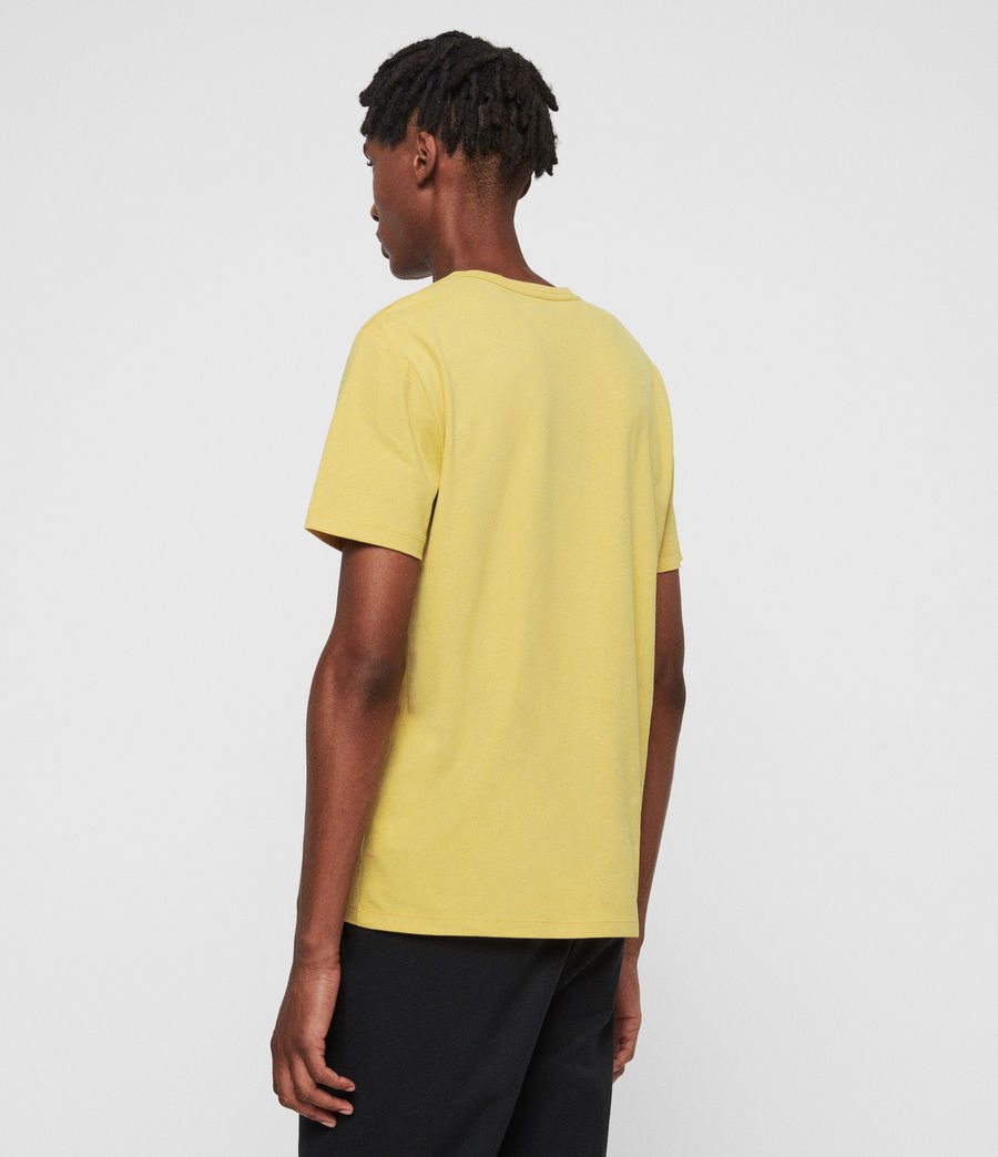 Men's Brace Tonic Crew T-Shirt (leo_yellow) - Image 5