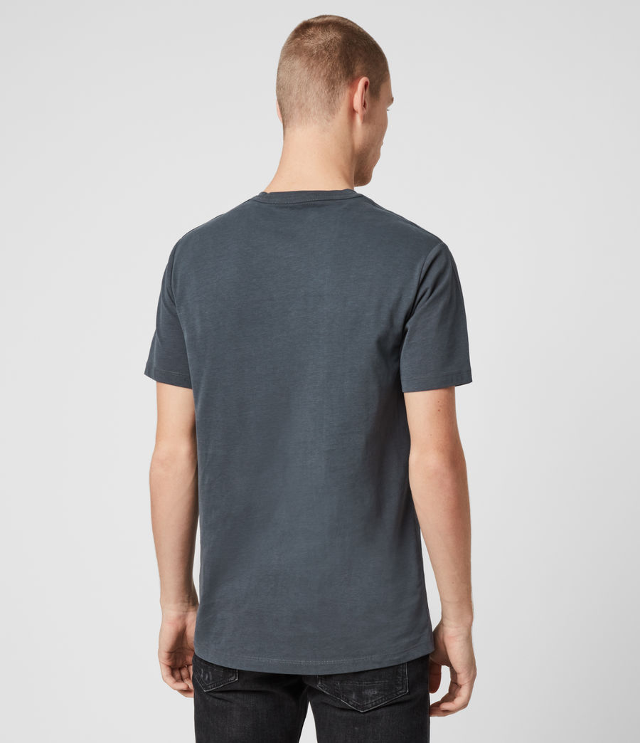 Mens Brace Tonic Crew T-Shirt (lt_mineral_blue_ml) - Image 5