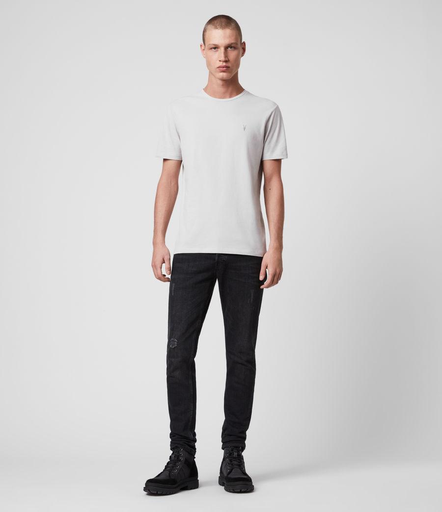 Mens Brace Tonic Short Sleeve Crew T-Shirt (jet_black) - Image 3
