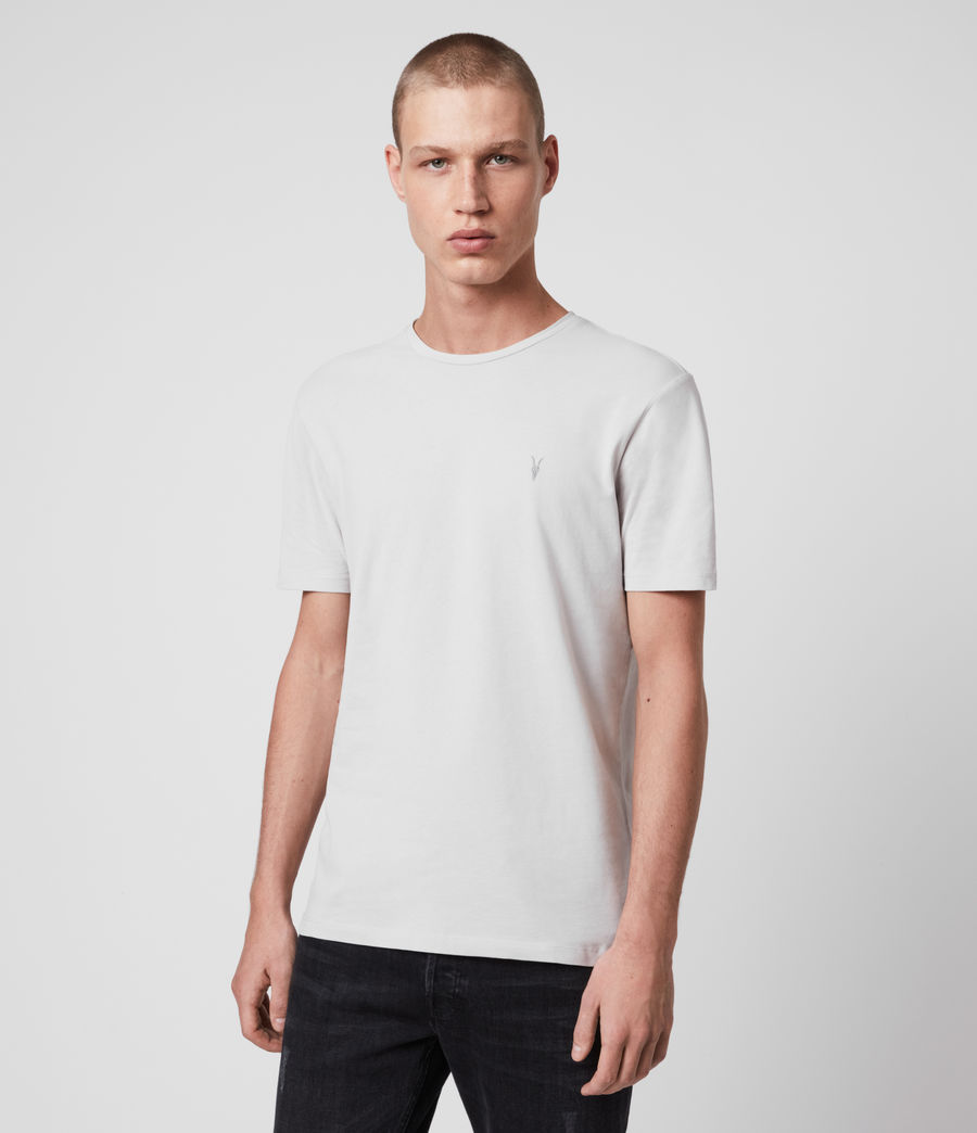 Mens Brace Tonic Short Sleeve Crew T-Shirt (jet_black) - Image 4