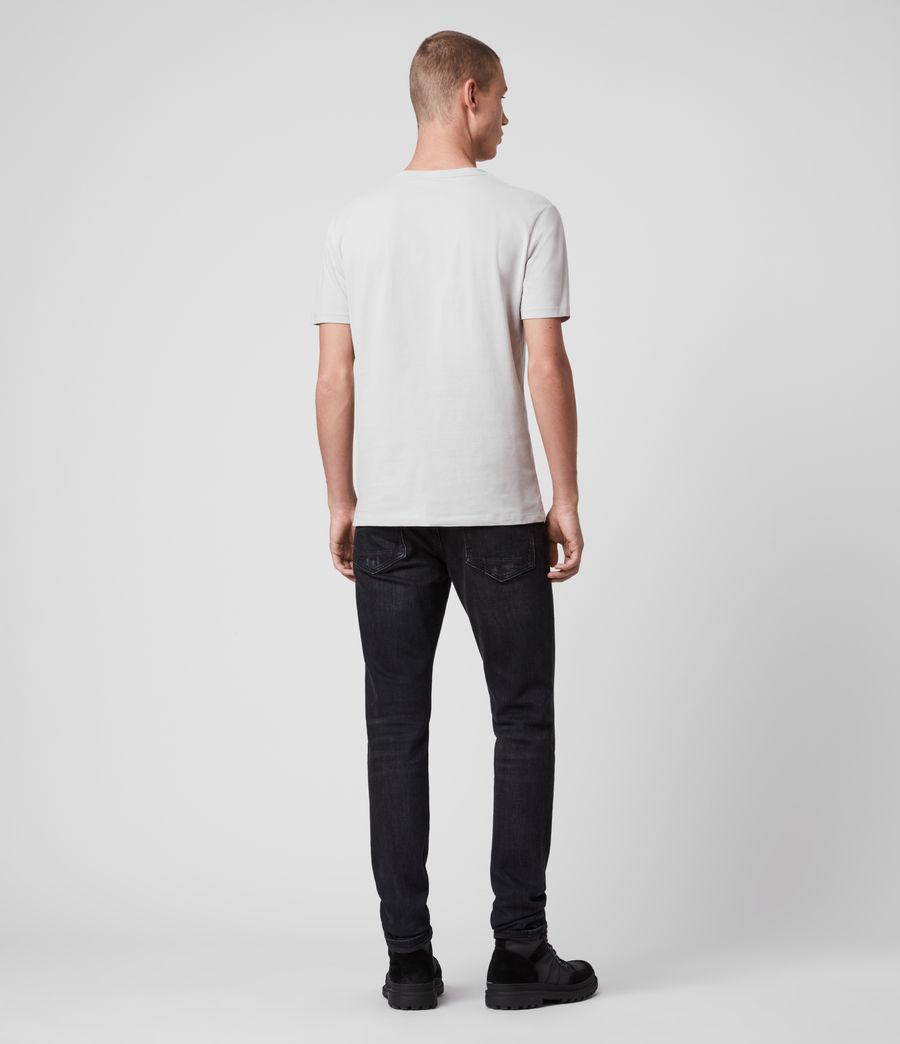 Mens Brace Tonic Short Sleeve Crew T-Shirt (jet_black) - Image 5