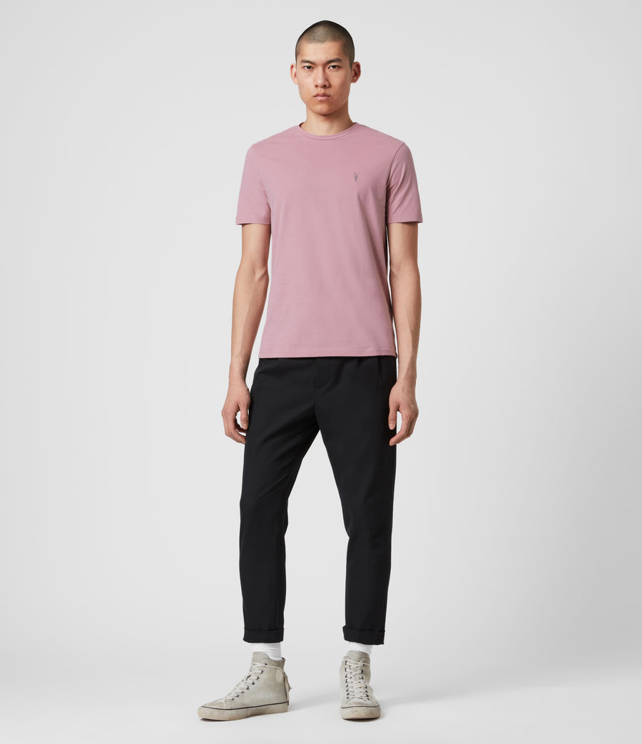 Mens Brace Tonic Crew T-Shirt (sunset_pink) - Image 3