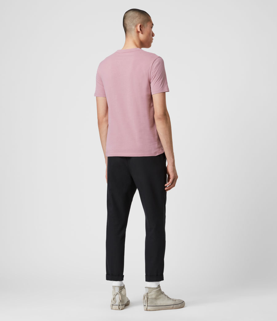 Mens Brace Tonic Crew T-Shirt (sunset_pink) - Image 5