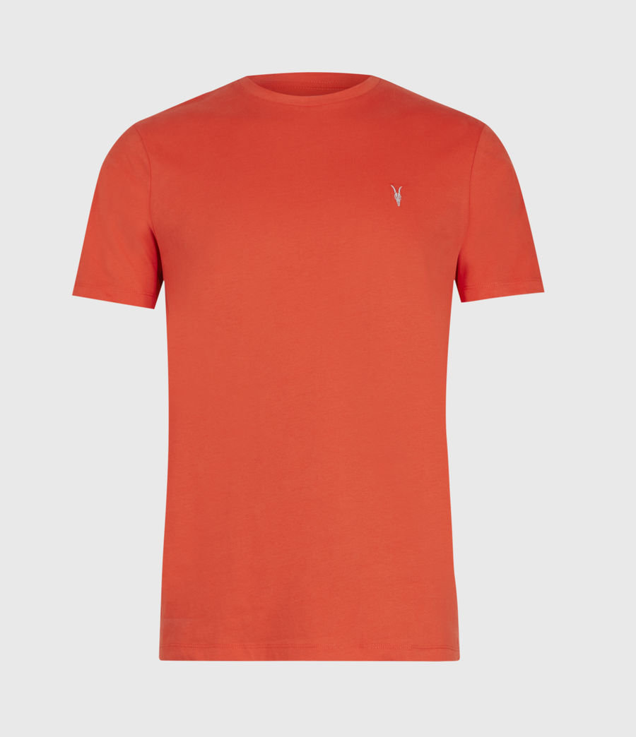 Men's Brace Tonic Crew T-Shirt (acer_red) - Image 1