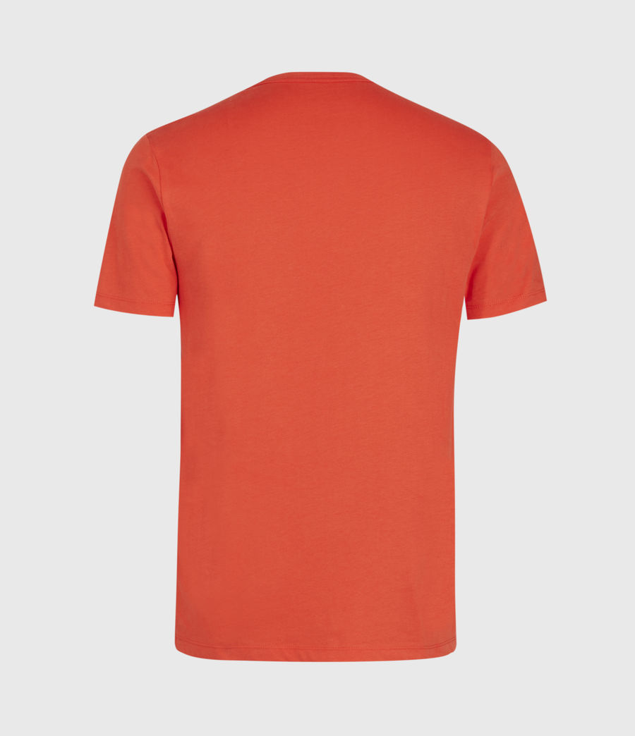 Men's Brace Tonic Crew T-Shirt (acer_red) - Image 2