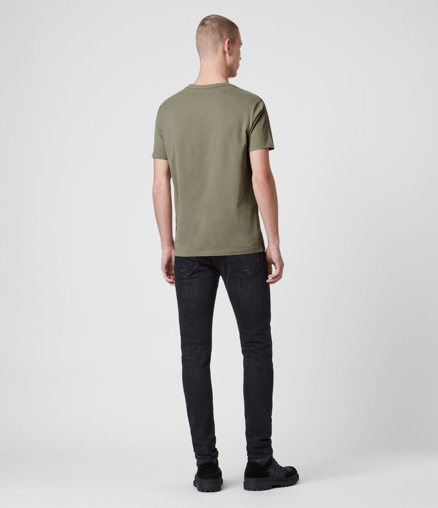 Mens Brace Tonic Crew T-Shirt (aloe_green) - Image 4