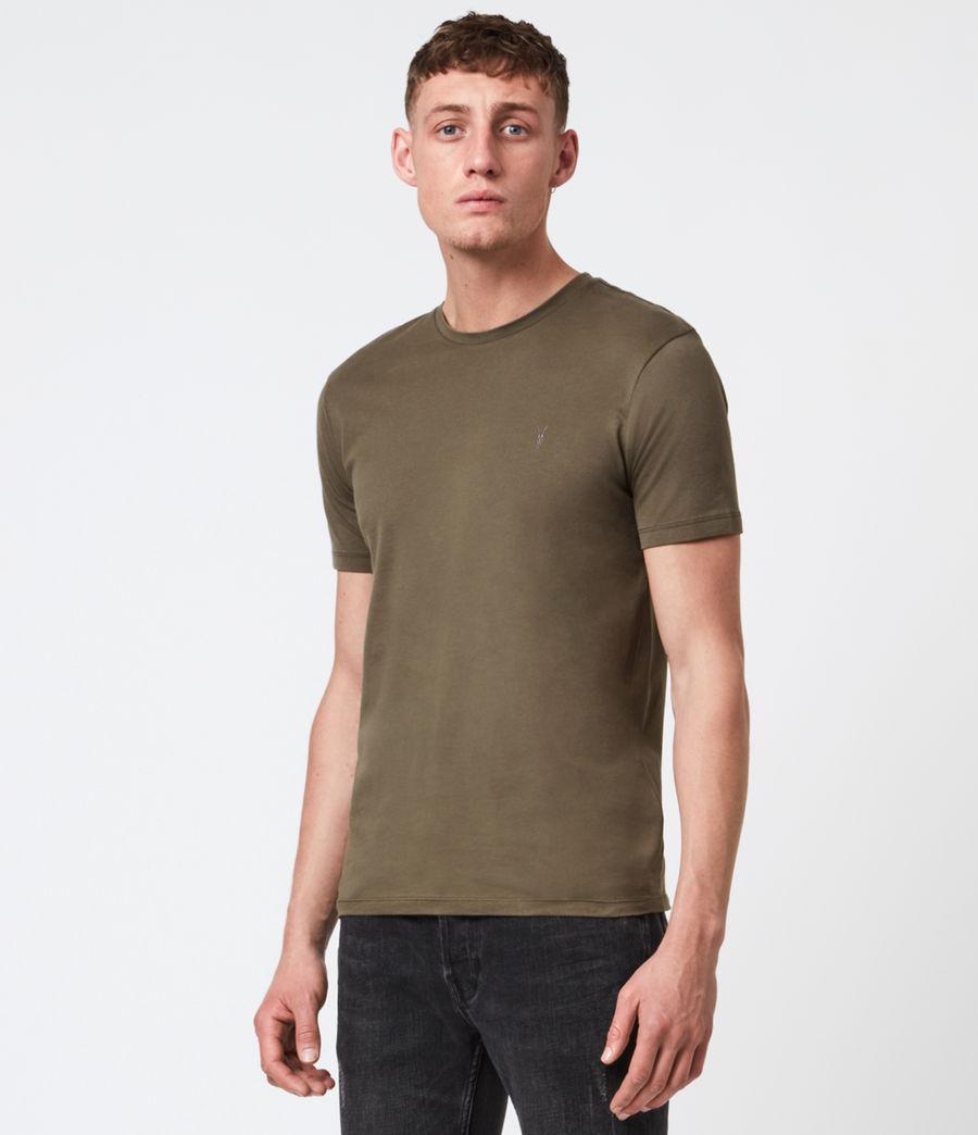Mens Brace Tonic Crew T-Shirt (seaweed_green) - Image 1
