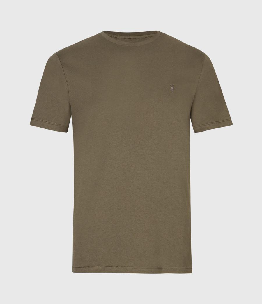 Mens Brace Tonic Crew T-Shirt (seaweed_green) - Image 2