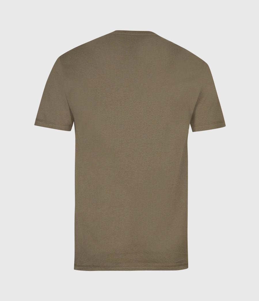 Mens Brace Tonic Crew T-Shirt (seaweed_green) - Image 3