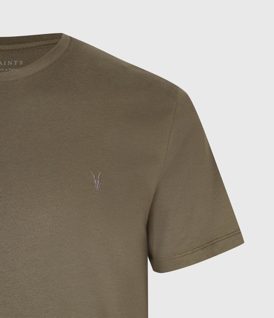 Mens Brace Tonic Crew T-Shirt (seaweed_green) - Image 4