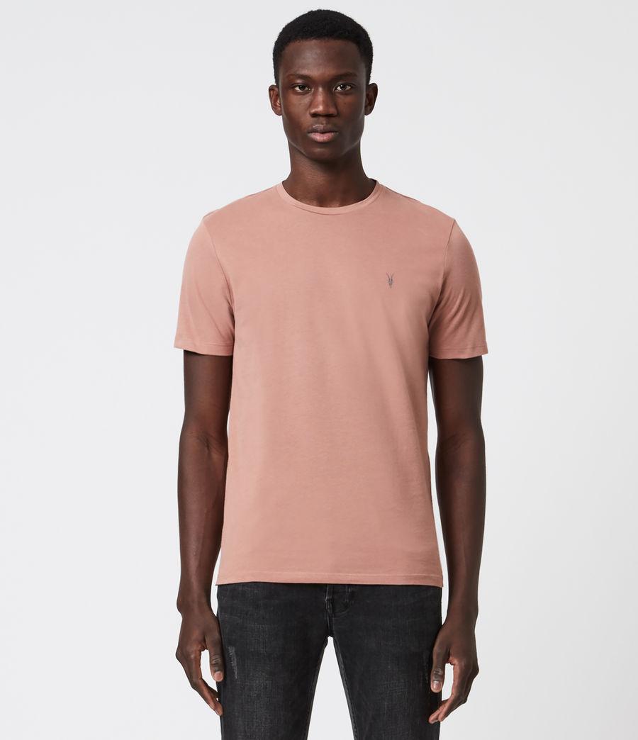 Men's Brace Tonic Crew T-Shirt (baked_clay_pink) - Image 1