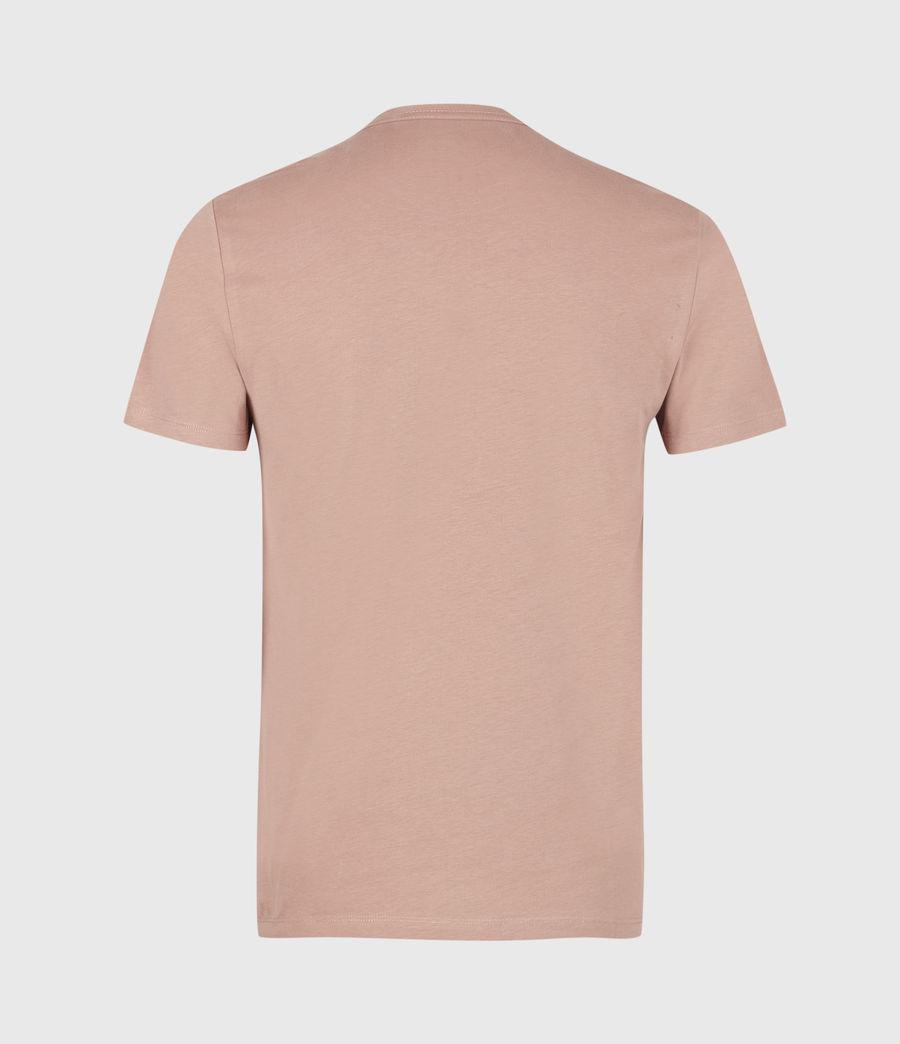 Men's Brace Tonic Crew T-Shirt (baked_clay_pink) - Image 3