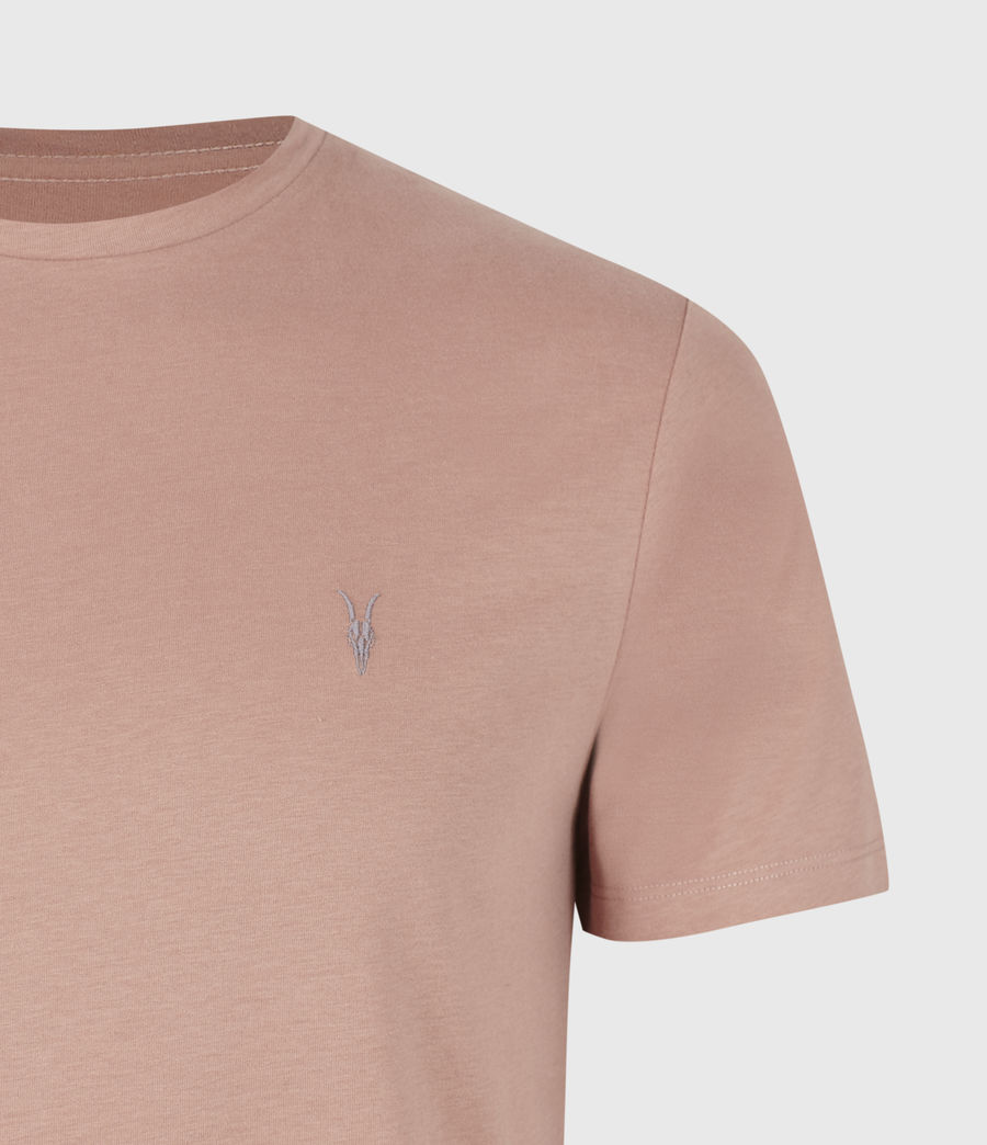 Mens Brace Tonic Crew T-Shirt (baked_clay_pink) - Image 5