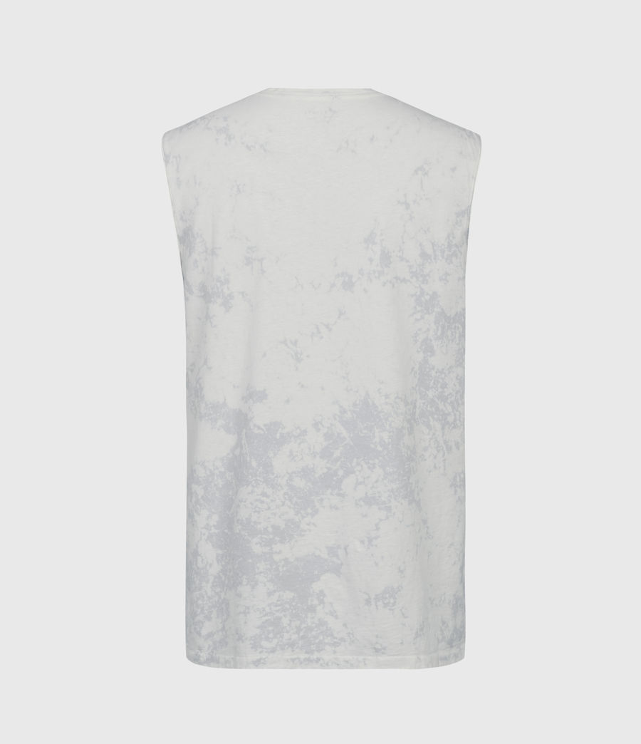 Men's Zing Sleeveless Crew T-Shirt (light_grey) - Image 3