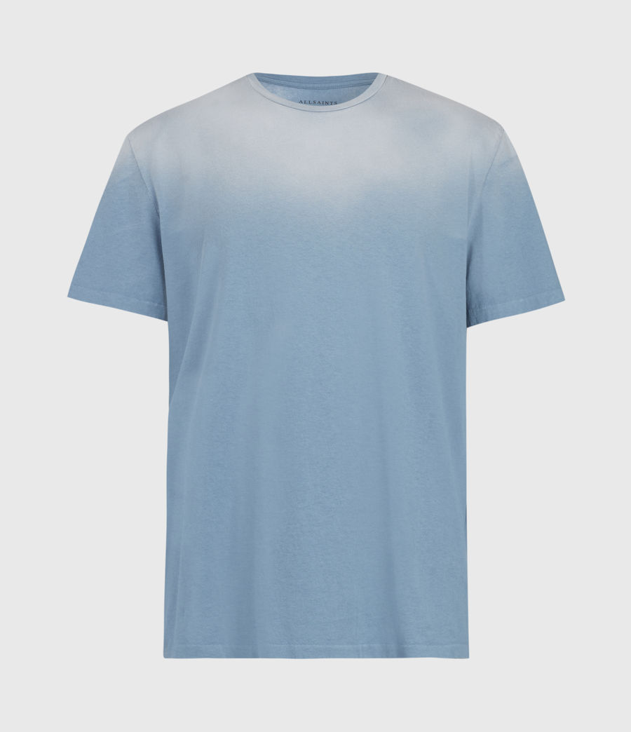 Mens Wallow Crew T-Shirt (enamel_blue) - Image 1
