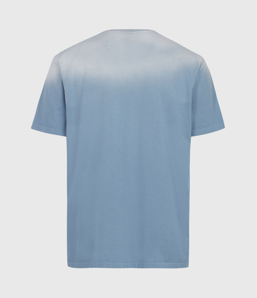 Men's Wallow Crew T-Shirt (enamel_blue) - Image 2