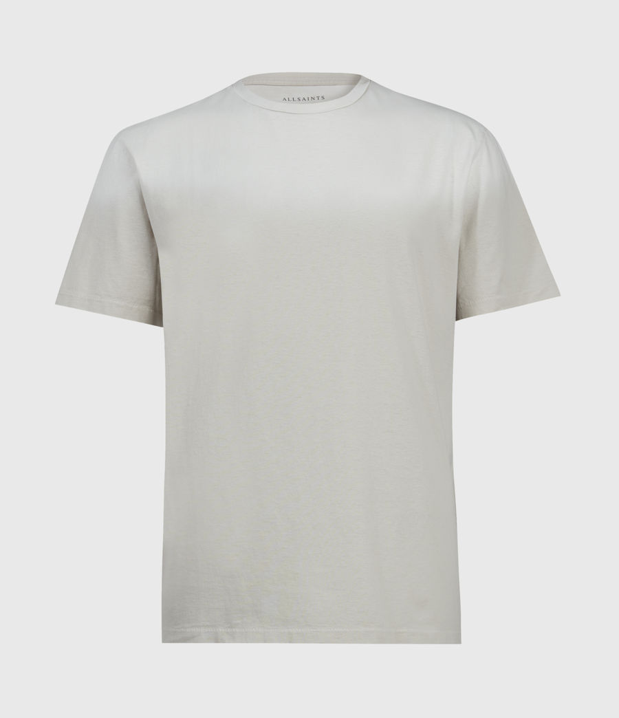 Men's Wallow Crew T-Shirt (clay_grey) - Image 1