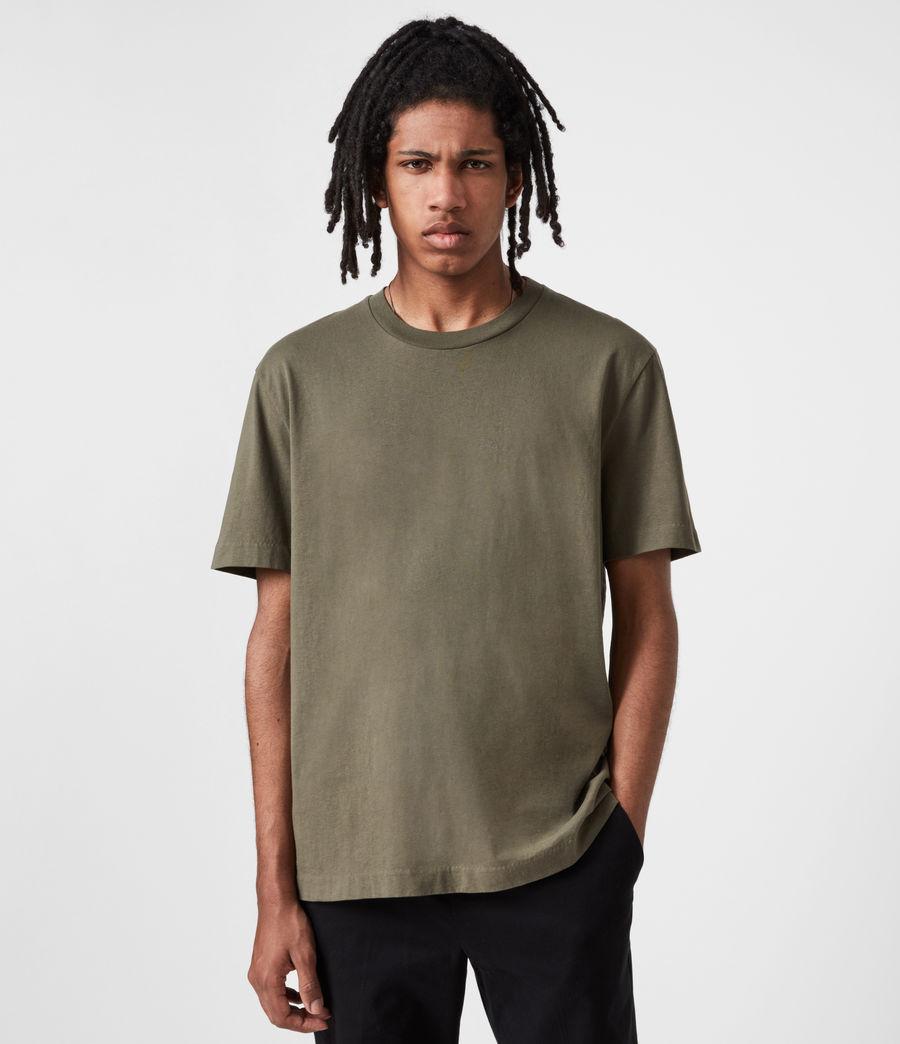 Mens Musica Crew T-Shirt (parlour_green) - Image 1