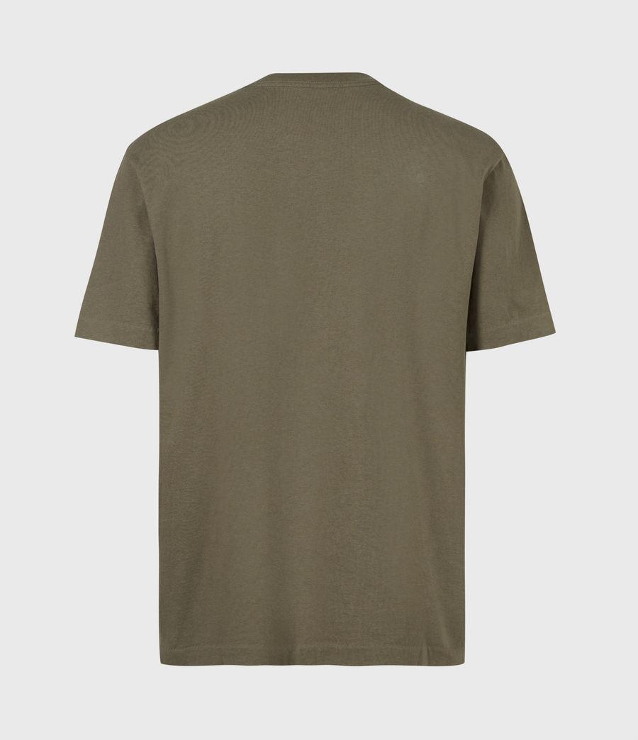 Mens Musica Crew T-Shirt (parlour_green) - Image 3
