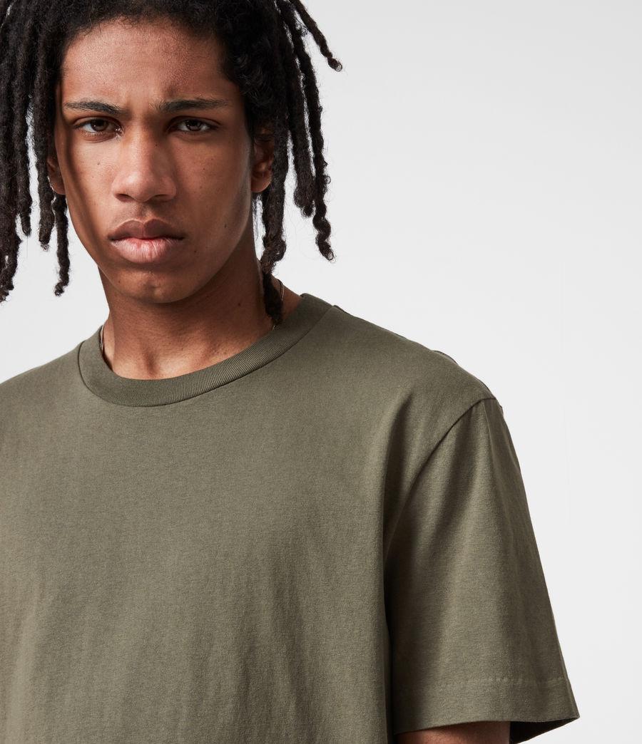 Mens Musica Crew T-Shirt (parlour_green) - Image 4