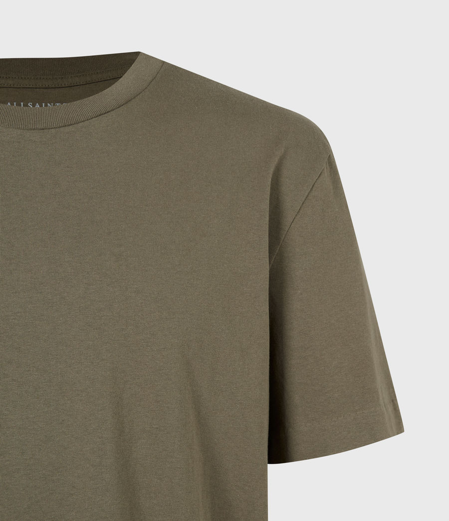 Mens Musica Crew T-Shirt (parlour_green) - Image 5