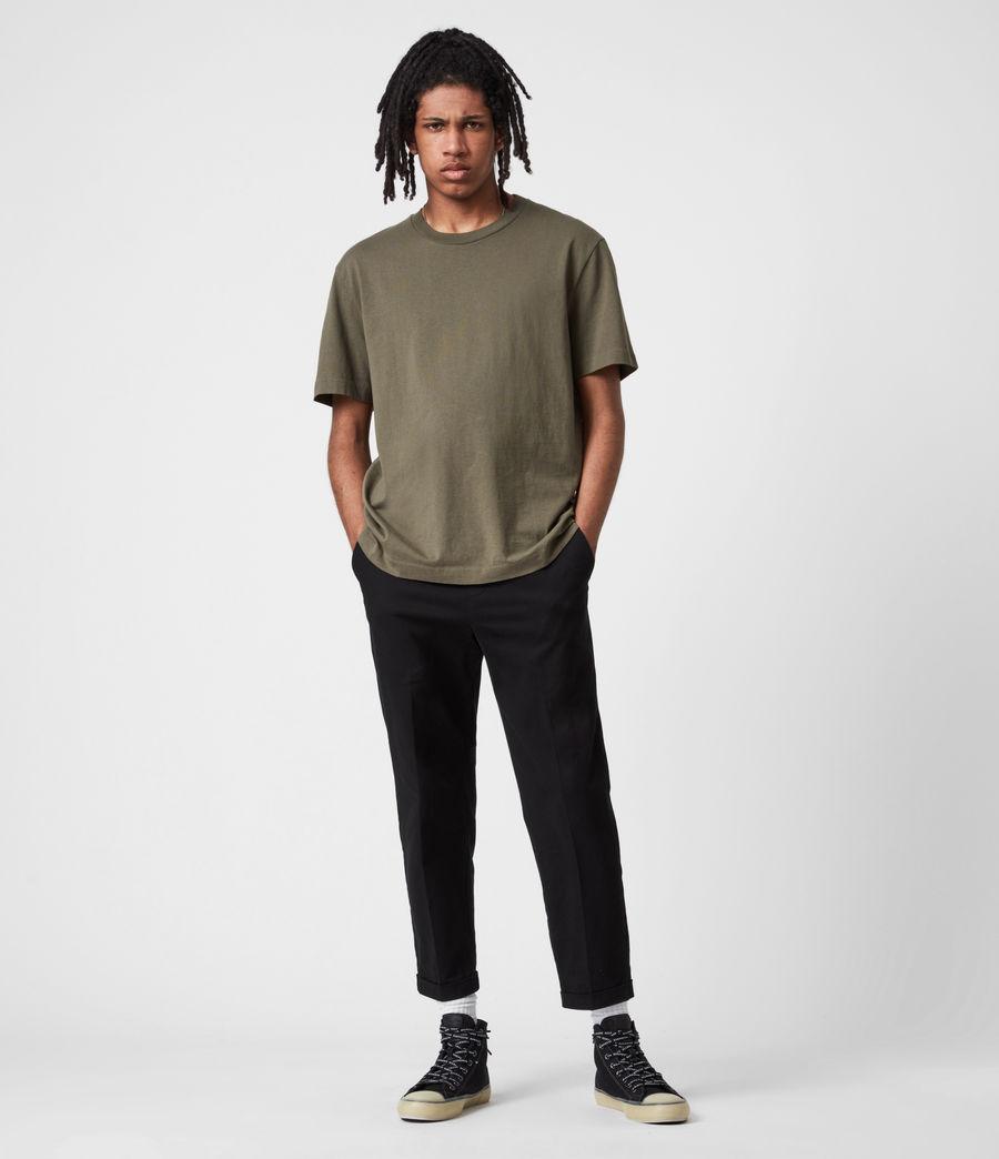 Mens Musica Crew T-Shirt (parlour_green) - Image 6
