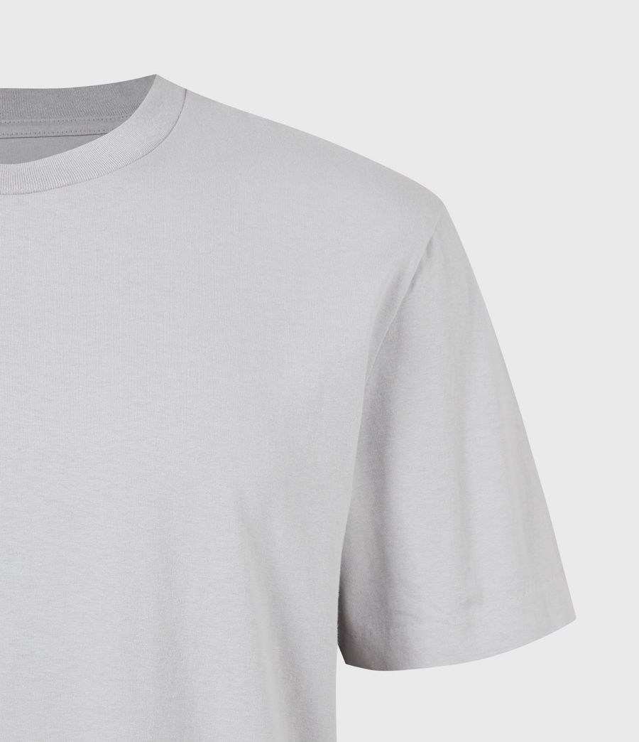 Mens Musica Crew T-Shirt (heath_grey) - Image 5