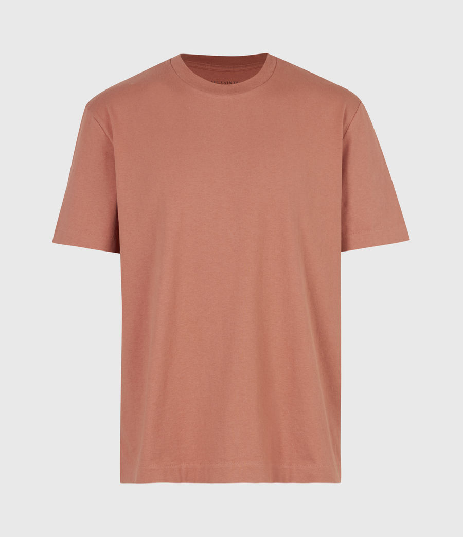 Mens Musica Crew T-Shirt (bronzed_pink) - Image 2