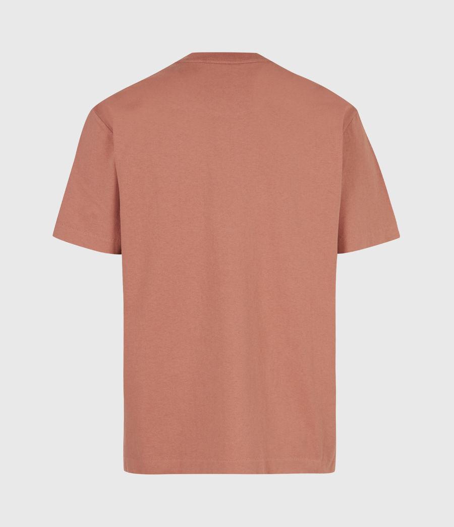 Mens Musica Crew T-Shirt (bronzed_pink) - Image 3