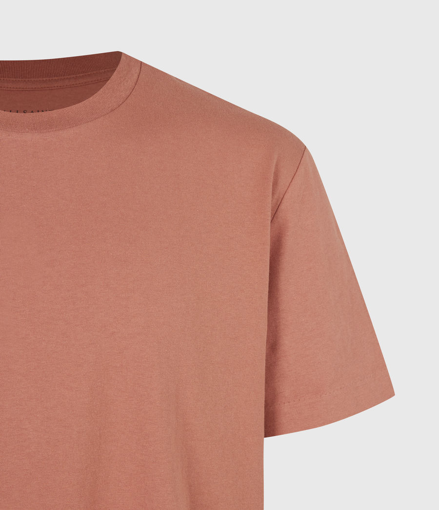 Mens Musica Crew T-Shirt (bronzed_pink) - Image 5