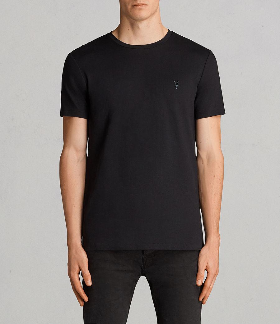 Men's Touch Crew T-Shirt 3 Pack (black_charcoal_str) - Image 2