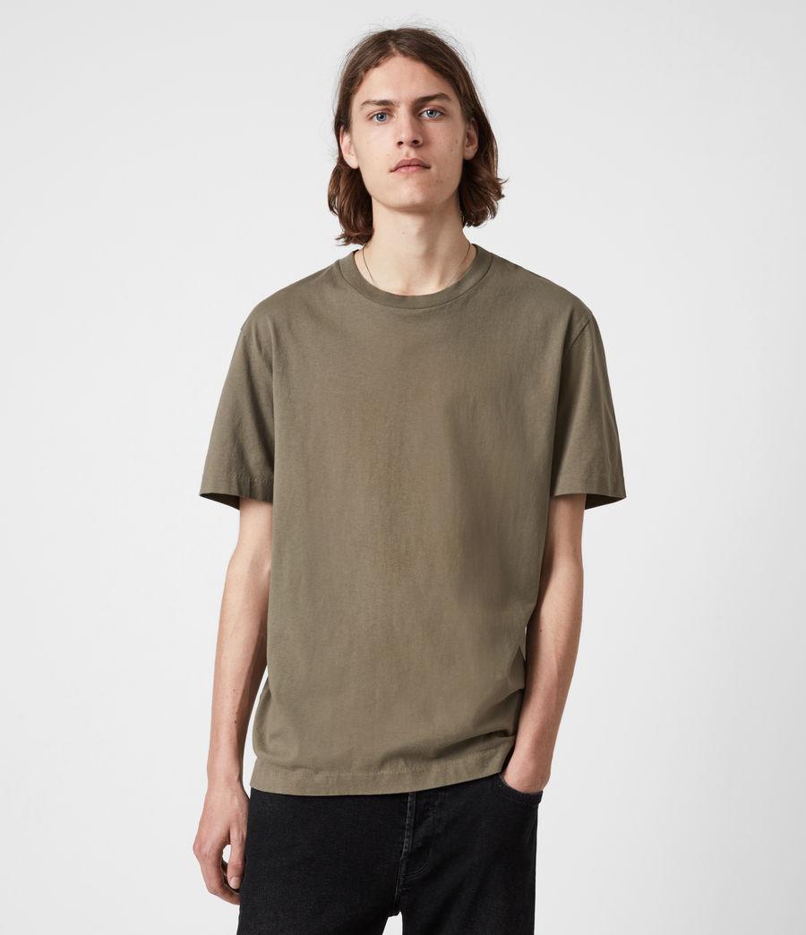 Herren Musica Crew T-Shirt (willow_taupe) - Image 1