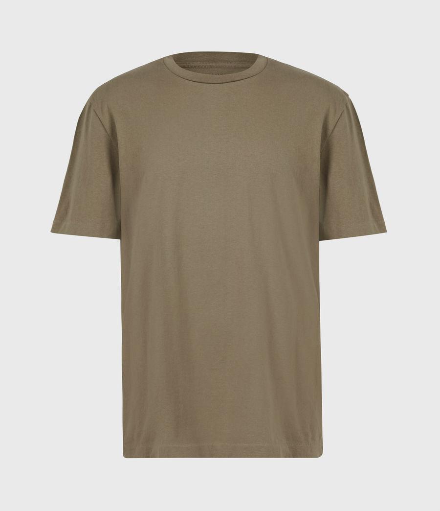 Herren Musica Crew T-Shirt (willow_taupe) - Image 2