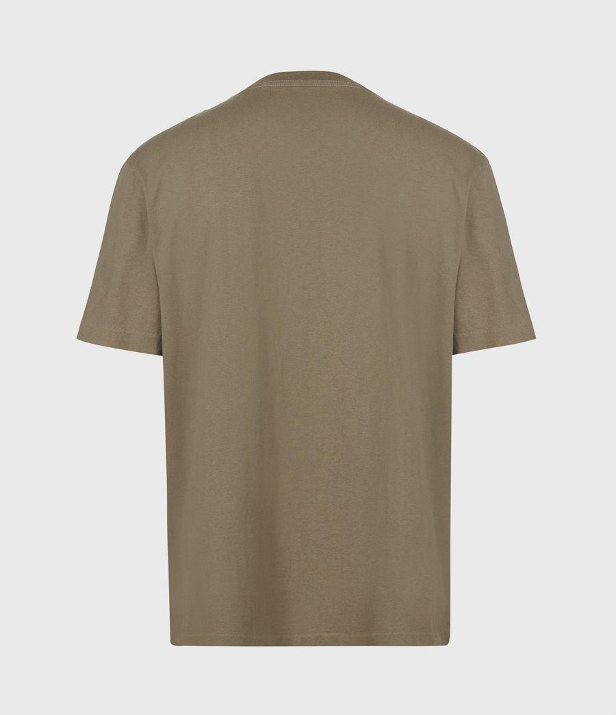 Herren Musica Crew T-Shirt (willow_taupe) - Image 3