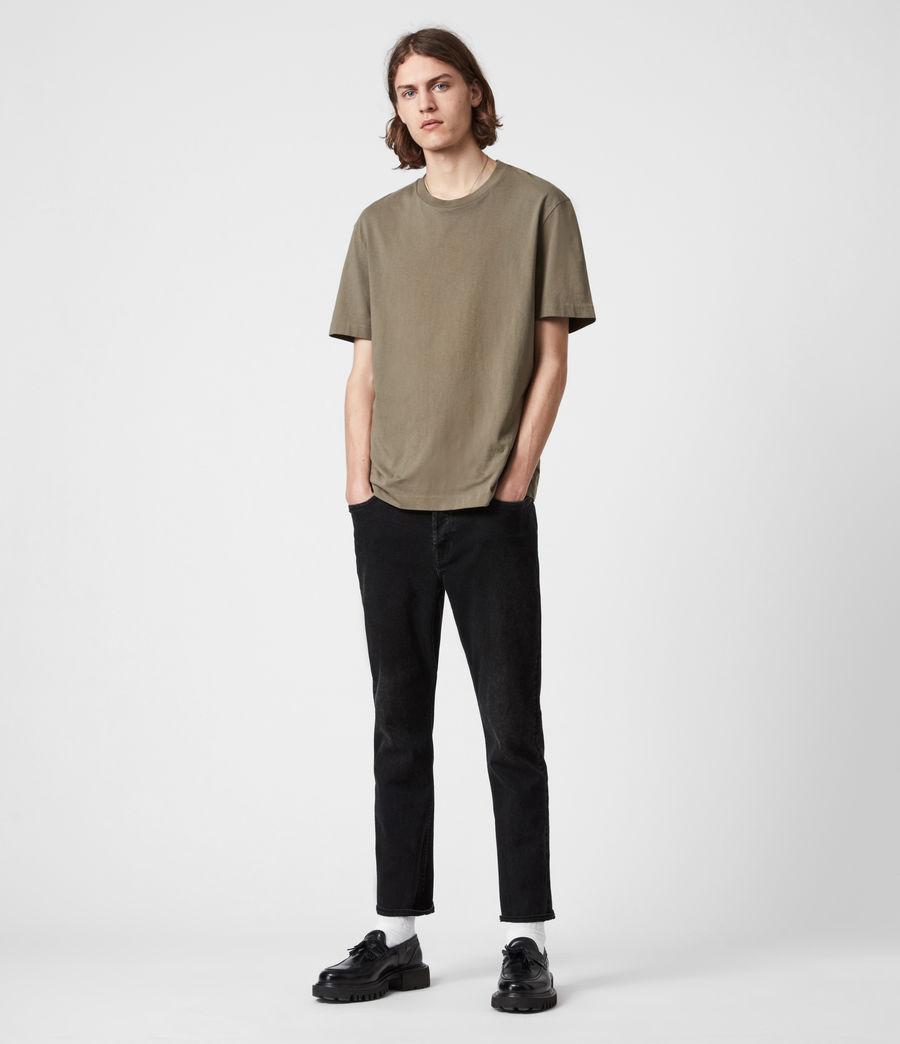 Herren Musica Crew T-Shirt (willow_taupe) - Image 4