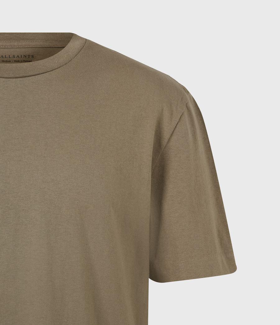 Herren Musica Crew T-Shirt (willow_taupe) - Image 5
