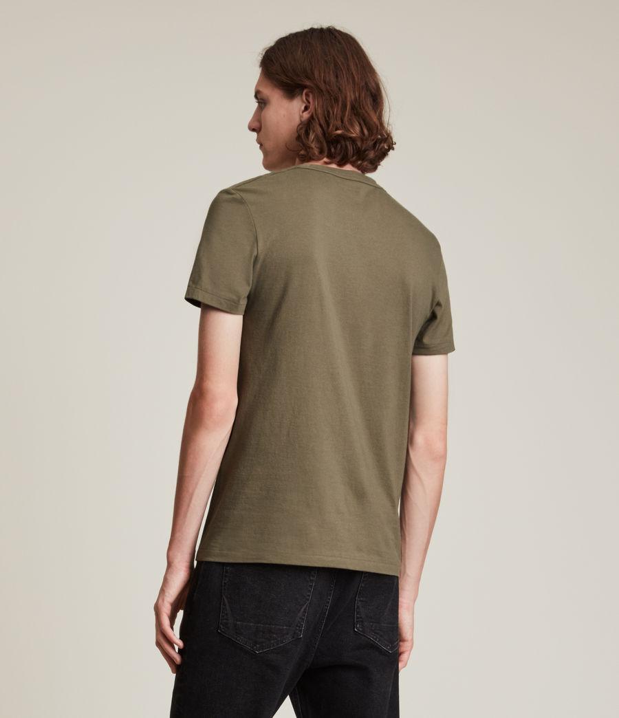 Herren Tonic Crew T-Shirt (peppered_brown) - Image 4