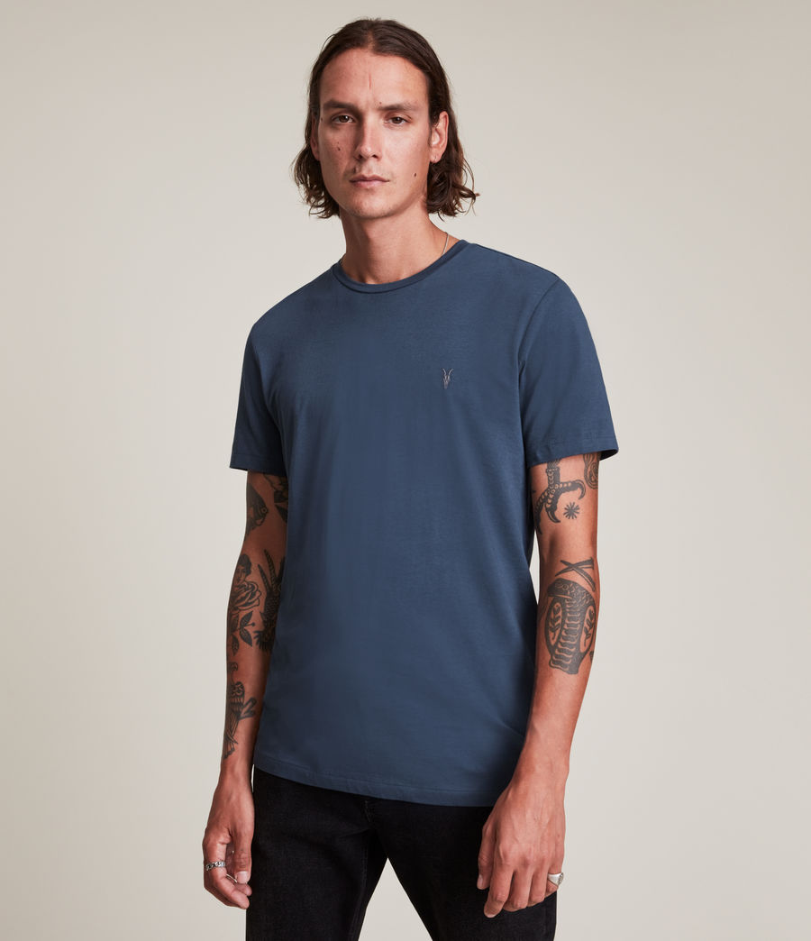 Hommes Tonic Crew T-Shirt (immersive_blue) - Image 1