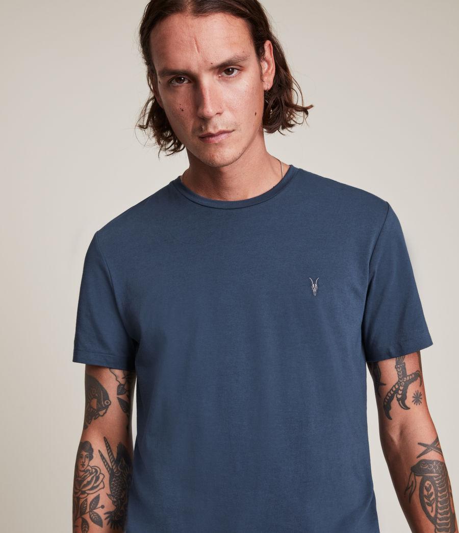 Hommes Tonic Crew T-Shirt (immersive_blue) - Image 2