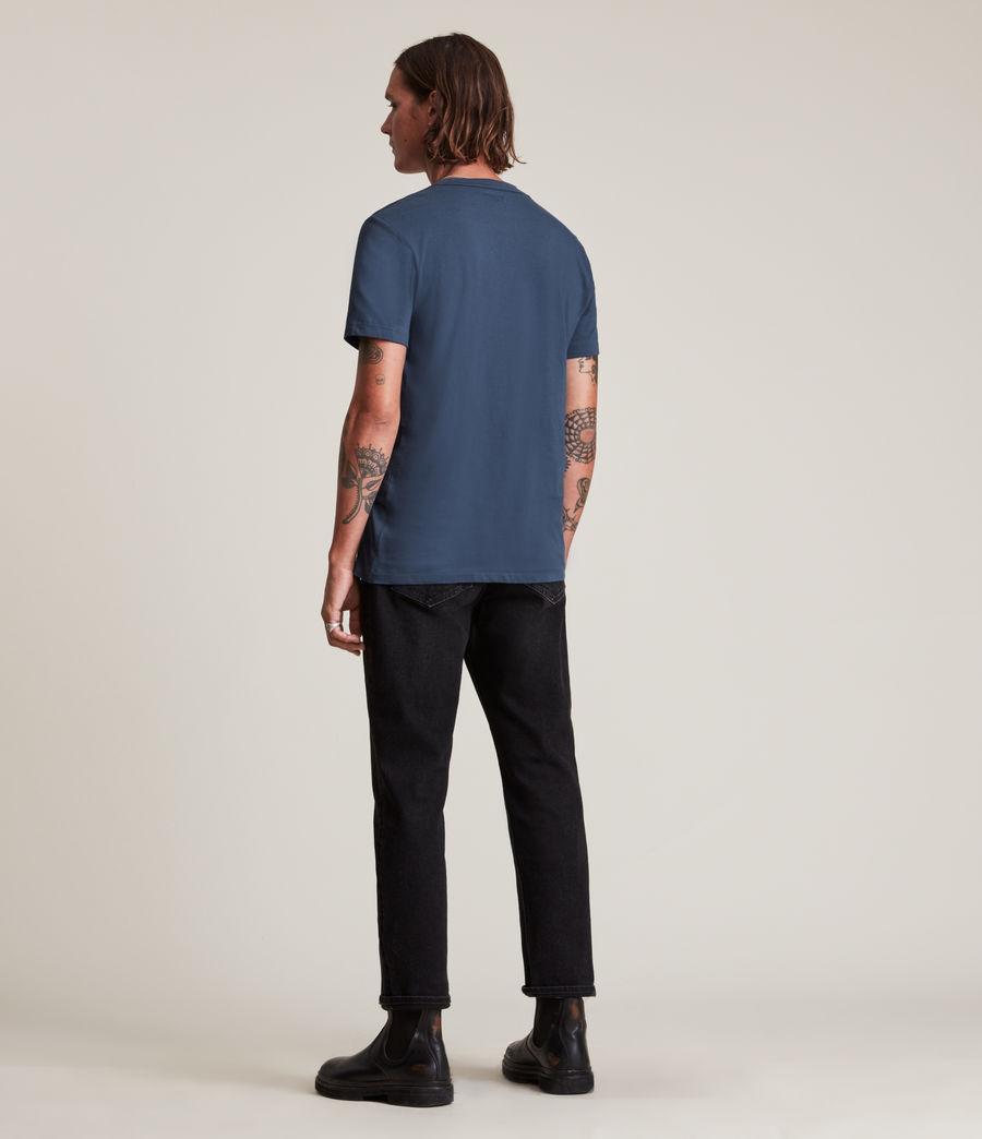 Hommes Tonic Crew T-Shirt (immersive_blue) - Image 4