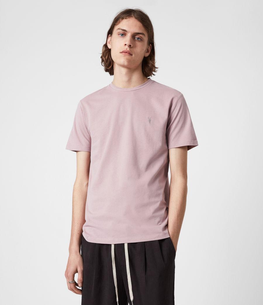 Mens Brace Crew T-Shirt (uluru_pink) - Image 4
