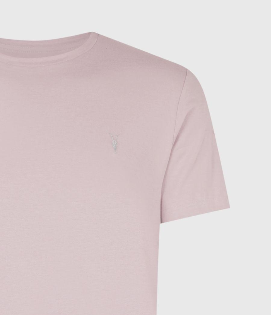Mens Brace Crew T-Shirt (uluru_pink) - Image 5