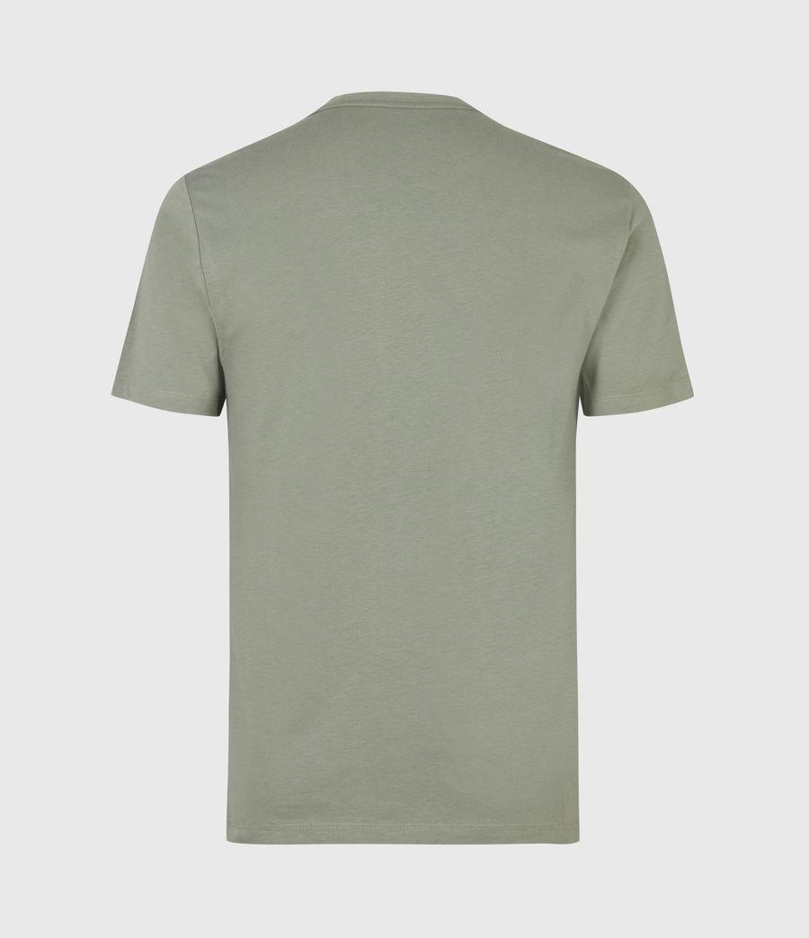 Mens Brace Crew T-Shirt (agave_green) - Image 3