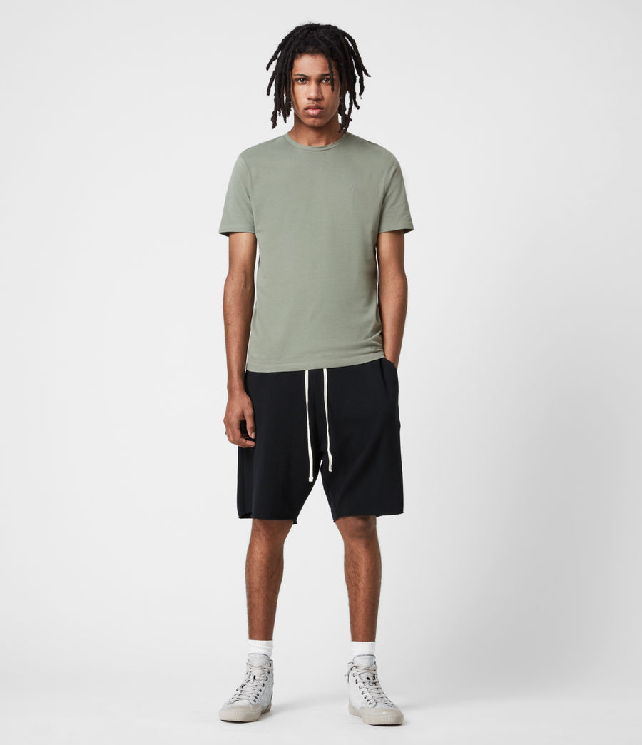 Mens Brace Crew T-Shirt (agave_green) - Image 4