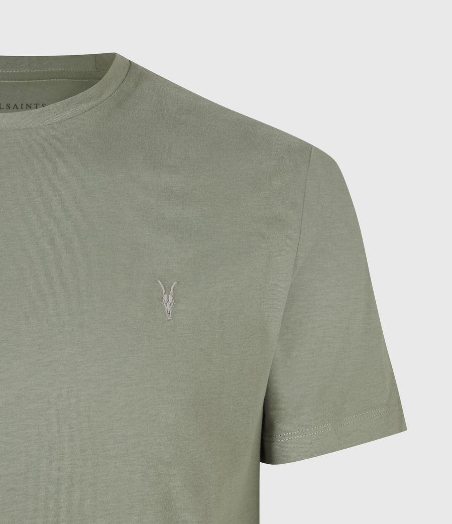 Mens Brace Crew T-Shirt (agave_green) - Image 5