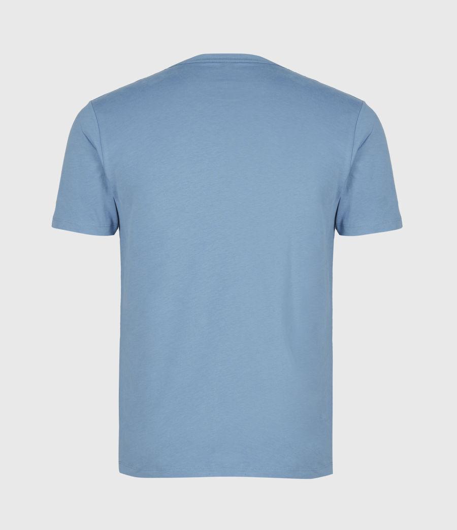 Mens Brace Crew T-Shirt (mirage_blue) - Image 3