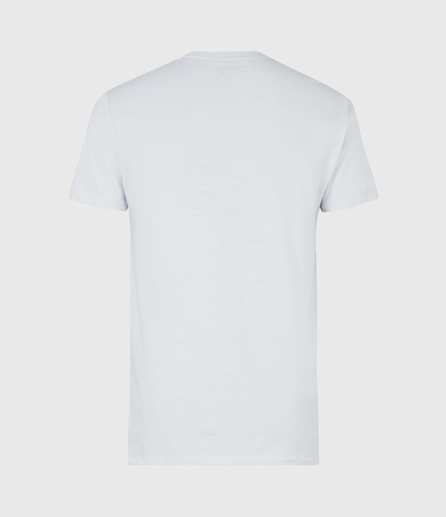 Mens Brace Crew T-Shirt (hazy_blue) - Image 3