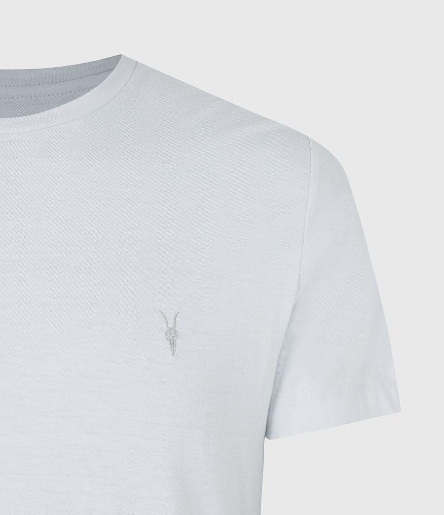 Mens Brace Crew T-Shirt (hazy_blue) - Image 4
