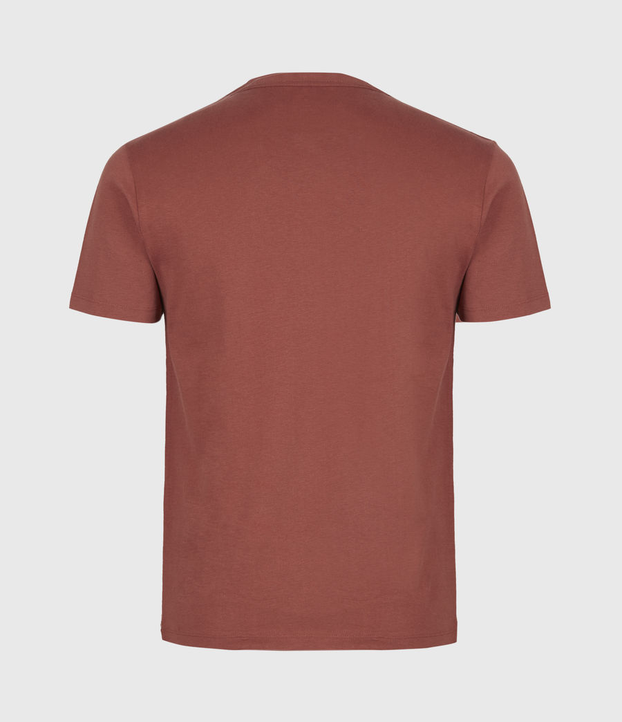 Men's Brace Crew T-Shirt (clay_red) - Image 3