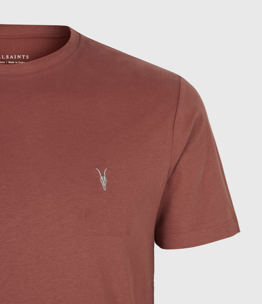 Men's Brace Crew T-Shirt (clay_red) - Image 5